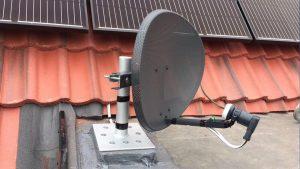 Satellite Dish Installation - Aerial man