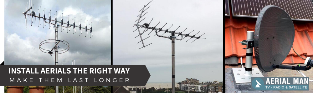 Install Aerials In Horsham The Right Way And Make Them Last Longer